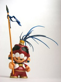 guerrero demonio sarukaku doctor nel art toy munny