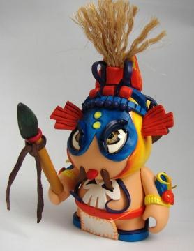 guerrero maya sarukaku